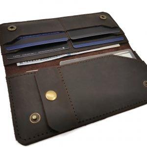 Удобный зеленый кошелек BNZ-3723 219222