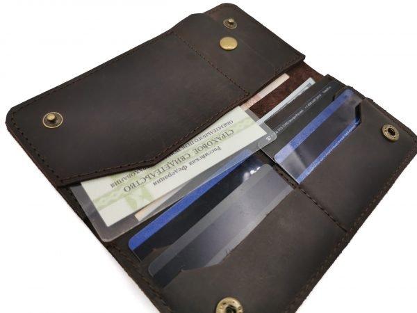 Удобный зеленый кошелек BNZ-3723