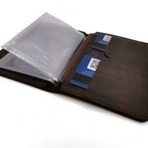 Солидная обложка для паспорта BNZ-2045 219415