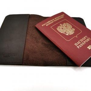 Солидная обложка для паспорта BNZ-3286