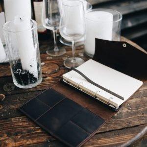 Функциональный коричневый ежедневник BNZ-3929