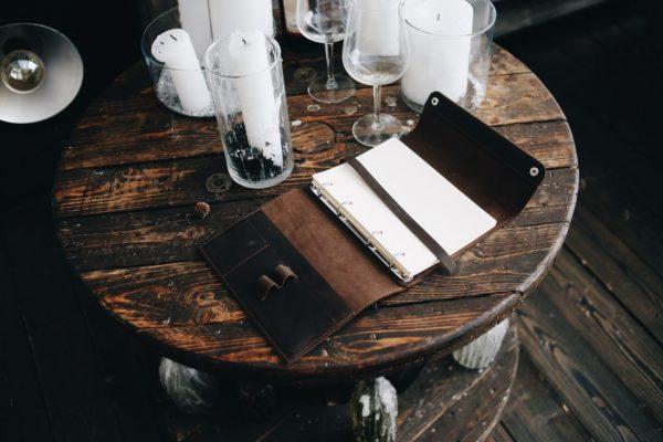 Модный коричневый ежедневник BNZ-3940