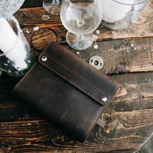 Модный коричневый ежедневник BNZ-3940 219203