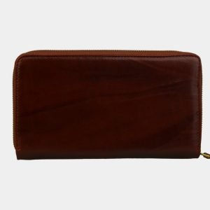 Кожаный светло-коричневый портмоне ATS-3083 213564