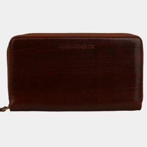 Стильный светло-коричневый портмоне ATS-3083