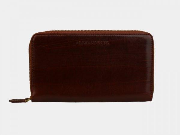 Кожаный светло-коричневый портмоне ATS-3083