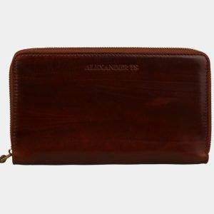 Деловой светло-коричневый портмоне ATS-3084