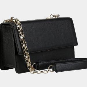 Деловой черный женский клатч ATS-3151 213405
