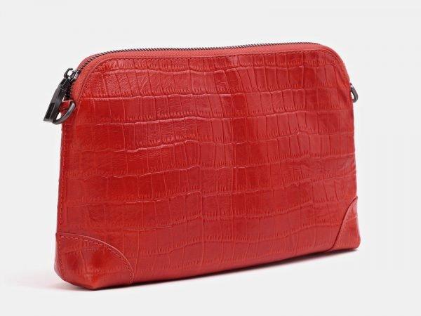 Солидная красная женская сумка ATS-3854