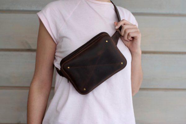 Кожаная сумка BNZ-2308
