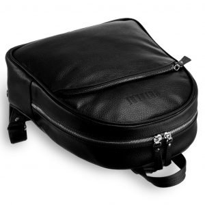 Деловой черный женский рюкзак BRL-17484