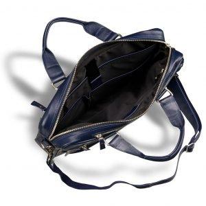Неповторимая синяя мужская классическая сумка BRL-3424 225026