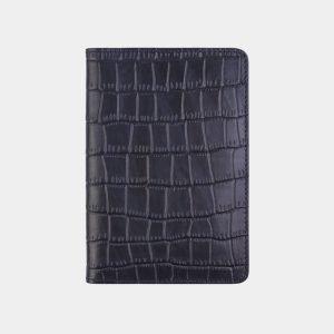 Уникальная синяя обложка для паспорта ATS-2677