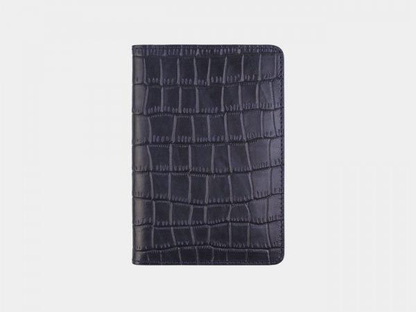 Модная синяя обложка для паспорта ATS-2677