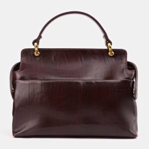 Функциональная бордовая женская сумка ATS-3437