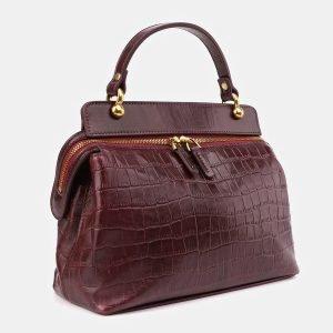 Удобная бордовая женская сумка ATS-3389 224787