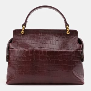 Удобная бордовая женская сумка ATS-3389 224788