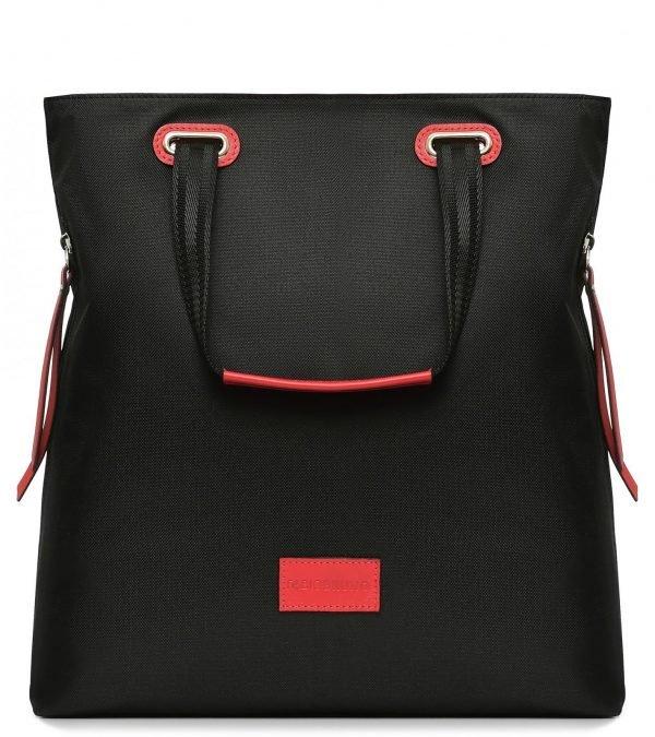 Модная черная женская сумка FBR-2688