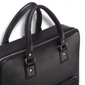 Стильная черная мужская сумка трансформер через плечо BRL-23166 224978
