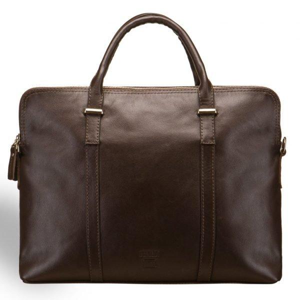 Солидная коричневая мужская кожгалантерея BRL-8447
