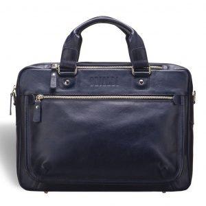 Неповторимая синяя мужская классическая сумка BRL-3424 225024