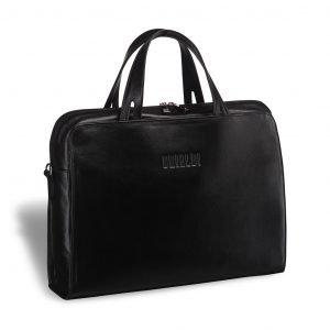 Неповторимая черная женская сумка портфель BRL-3369