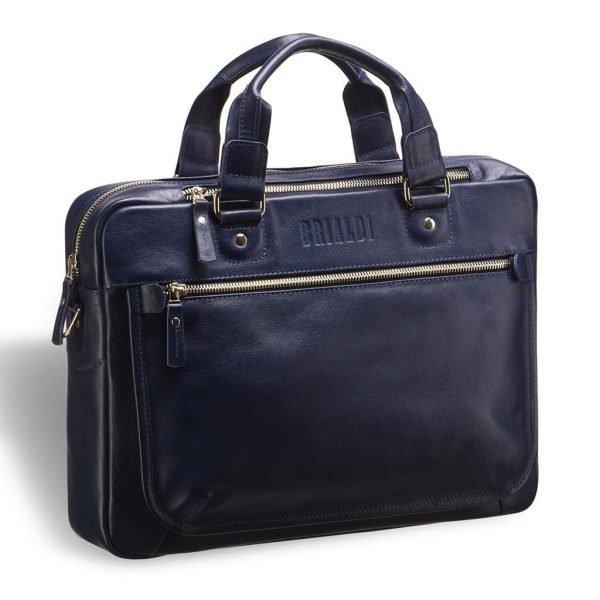 Неповторимая синяя мужская классическая сумка BRL-3424