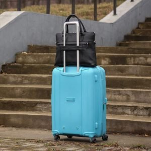 Функциональная черная мужская сумка для документов BRL-44550