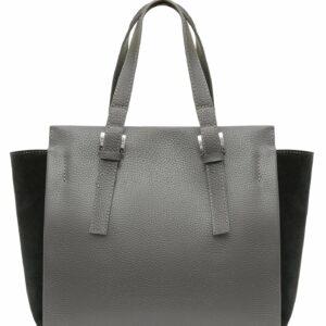 Функциональная серая женская сумка FBR-2545