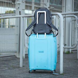 Солидный синий мужской деловой рюкзак BRL-45821 226925