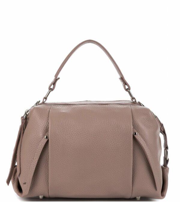 Модная бежевая женская сумка FBR-1761