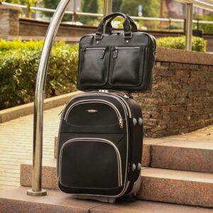 Удобный черный мужской портфель деловой BRL-34109 226630