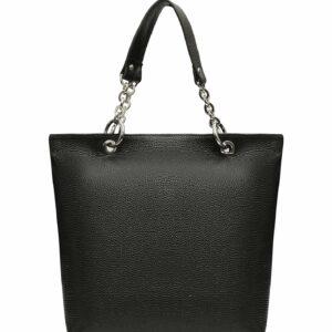 Кожаная черная женская сумка FBR-1347