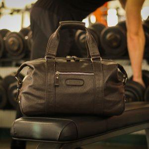 Уникальная коричневая сумка для фитнеса BRL-11872
