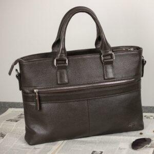 Стильная коричневая мужская классическая сумка BRL-44559 226800