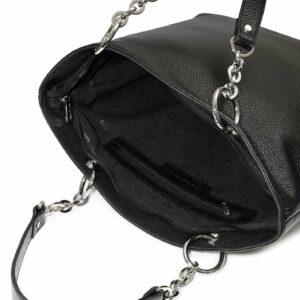 Кожаная черная женская сумка FBR-1347 227067
