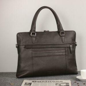 Уникальная коричневая мужская сумка для документов BRL-44551 226723