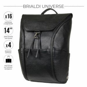 Деловой черный мужской деловой рюкзак BRL-45822