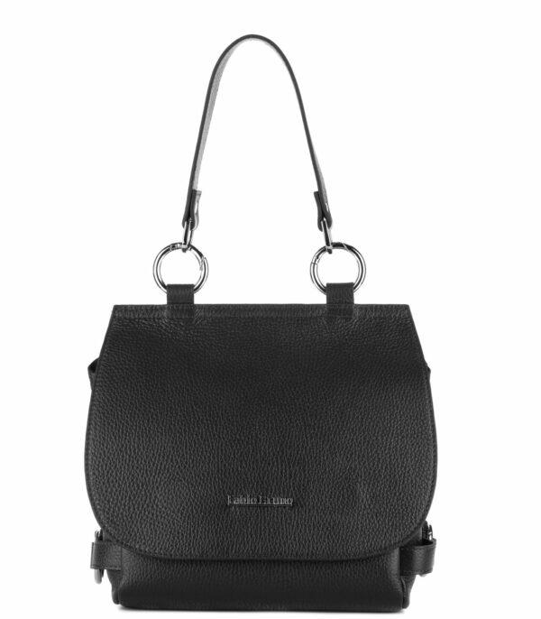 Удобная черная женская сумка FBR-1532