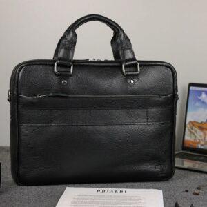 Удобный черный мужской портфель деловой BRL-34109 226628