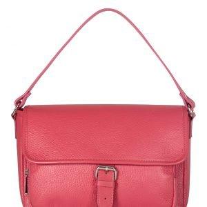 Деловая розово-оранжевая женская сумка через плечо FBR-1162