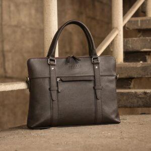Уникальная коричневая мужская сумка для документов BRL-44551 226715
