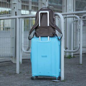 Модный коричневый мужской деловой рюкзак BRL-45820 226900