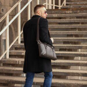 Уникальная коричневая мужская сумка для документов BRL-44551 226732