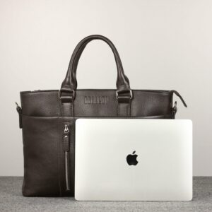 Стильная коричневая мужская классическая сумка BRL-44559 226832