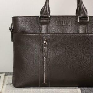 Стильная коричневая мужская классическая сумка BRL-44559 226834