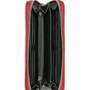 Солидный бордовый женский аксессуар FBR-2438