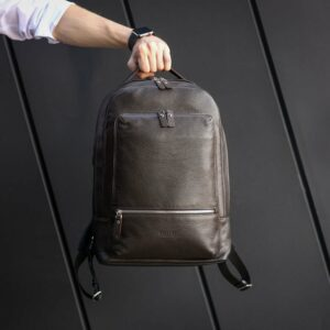 Модный коричневый мужской деловой рюкзак BRL-45820 226871