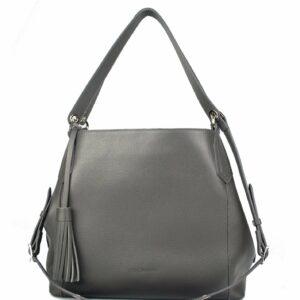 Функциональная серая женская сумка FBR-2351