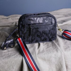 Функциональная серая женская сумка через плечо FBR-2320 226230